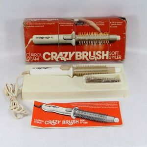 Vintage New Crazy Brush Soft Styler Steam Brush